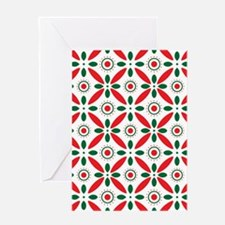 Christmas Pattern Greeting Cards