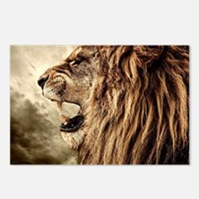 Roaring Lion Postcards (Package of 8)