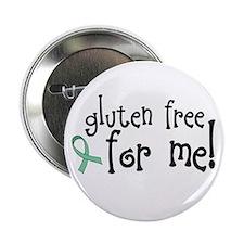 """Gluten Free Celiac 2.25"""" Button (100 pack)"""