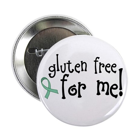 "Gluten Free Celiac 2.25"" Button (100 pack)"