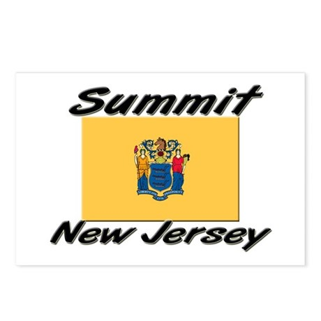 Summit New Jersey Postcards (Package of 8)