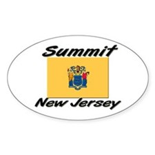Summit New Jersey Oval Decal