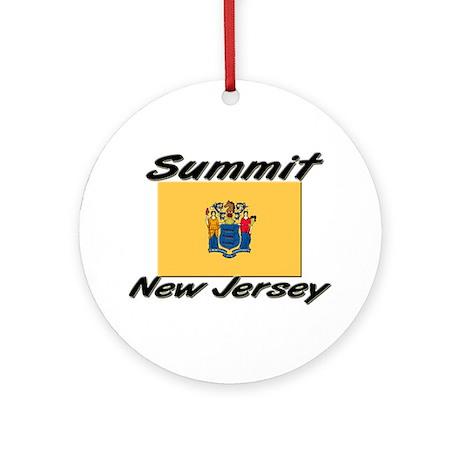 Summit New Jersey Ornament (Round)