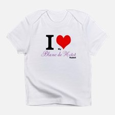I heart my Blanc de Hotot Infant T-Shirt