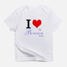 I heart my Beveren Infant T-Shirt