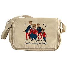 Sing a Tag Messenger Bag