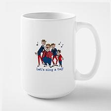 Sing a Tag Large Mug