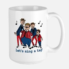 Sing a Tag Mug