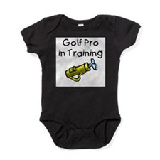 Unique Golfer Baby Bodysuit