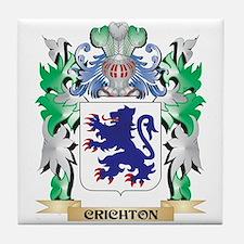Crichton Coat of Arms - Family Crest Tile Coaster
