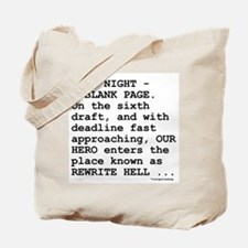 Rewrite Hell Tote Bag