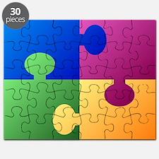 Colorful Puzzle Puzzle