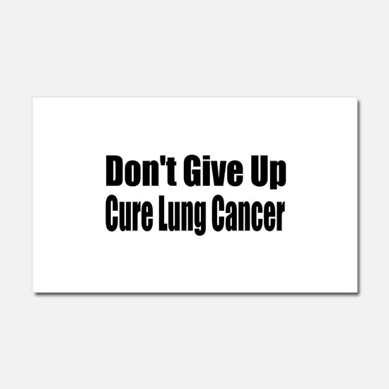 lung6.png Car Magnet 20 x 12