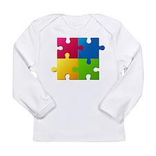 Autism Awareness Puzzle Long Sleeve T-Shirt
