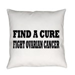 Ovarian Cancer Everyday Pillow