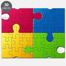 Autism Awareness Puzzle Puzzle