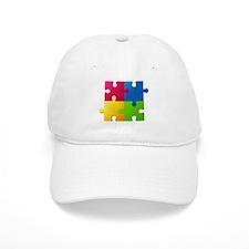 Autism Awareness Puzzle Baseball Cap