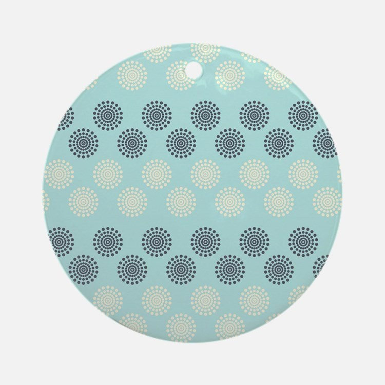 Decorative Pattern Round Ornament