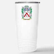Crocker Coat of Arms - Stainless Steel Travel Mug