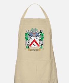 Crocker Coat of Arms - Family Crest Apron