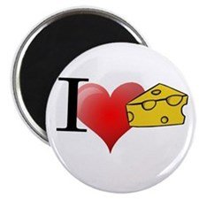 Funny Cheese Magnet