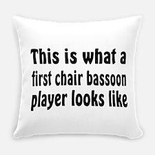 Bassoon Everyday Pillow
