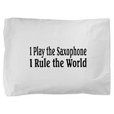 Saxophone Pillow Sham