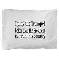 Trumpet Pillow Sham