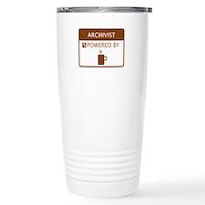 Cute Archivist Travel Mug