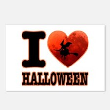 I love Halloween Postcards (Package of 8)