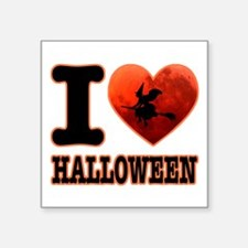 I love Halloween Sticker