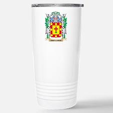 Crossman Coat of Arms - Travel Mug