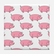 Field of Pigs Tile Coaster