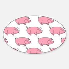 Field of Pigs Decal