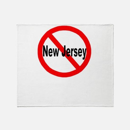 newjersey.jpg Throw Blanket