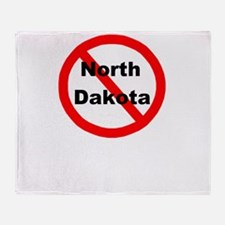 northdakota.jpg Throw Blanket