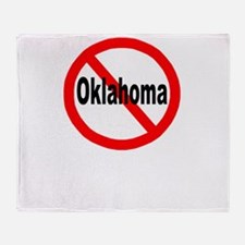 oklahoma.jpg Throw Blanket