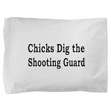 Cute Chicks man Pillow Sham