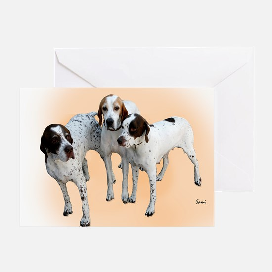 Cute Personalized dog christmas Greeting Card