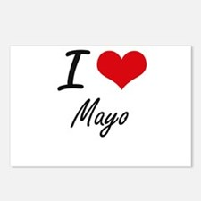 I Love Mayo Postcards (Package of 8)