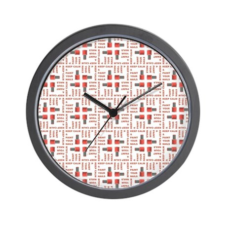 KEEP CALM... Wall Clock by UntilSomeoneBreaksANail