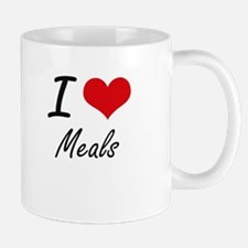 I Love Meals Mugs