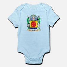 Cubo Coat of Arms - Family Crest Body Suit