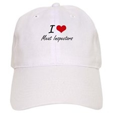 I Love Meat Inspectors Baseball Baseball Cap