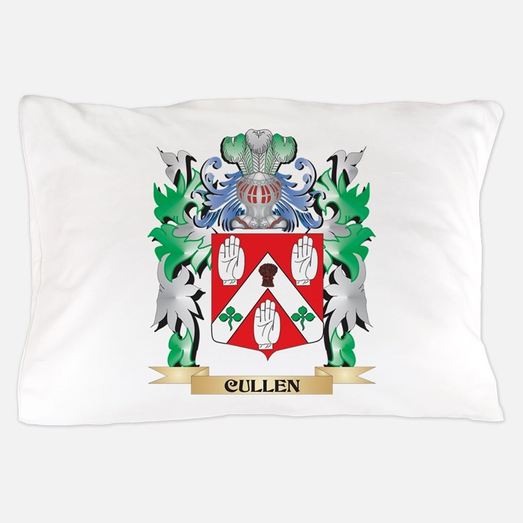 Cullen Coat of Arms - Family Crest Pillow Case