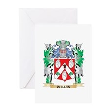 Cullen Coat of Arms - Family Crest Greeting Cards