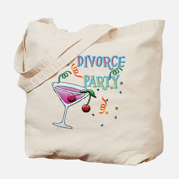 Cute Divorce party Tote Bag
