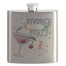 Cute Divorce party Flask