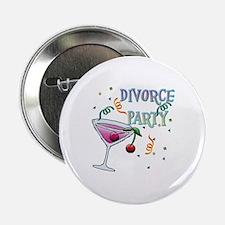 """Unique Divorced 2.25"""" Button"""