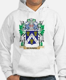 Cummins Coat of Arms - Family Cr Hoodie